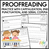 Writing Conventions and Proofreading Grade 1