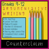Writing Counterclaims in Argumentative Text-Based FSA Styl