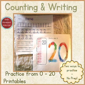 Writing & Counting Numbers to 20