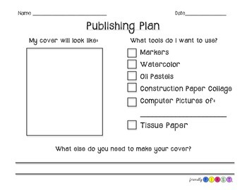 Writing Cover Planning Sheet