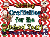 Writing Craftivities for the School Year!