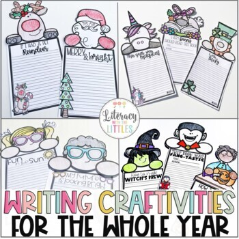 Writing Craftivities for the Whole Year