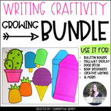Writing Craftivity Growing Bundle