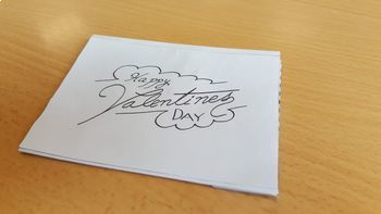 Valentine´s Day Craftivity: Lighting Heart