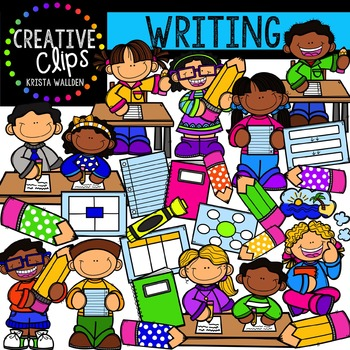 Writing {Creative Clips Digital Clipart}