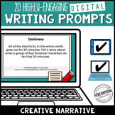 Writing Creative Narrative Digital Writing Prompts for Gra
