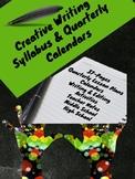 Writing: Creative Writing Syllabus & Quarterly Calendars