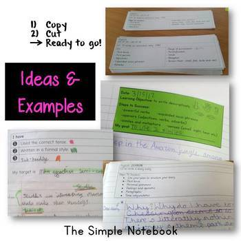 Writing Criteria/Writing Checklist (Grades 4-6)
