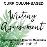 Curriculum-Based Writing Assessment