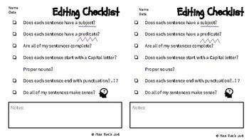 Writing Curriculum Part 1 - Sentence Writing, Capitals, Nouns, Verbs Adjectives