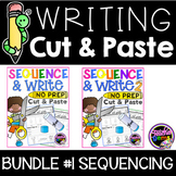Writing Cut and Paste Bundle 1 - Sequencing