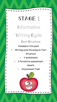 Writing cycle informative text structure stage 1 by engage and educate writing cycle informative text structure stage 1 stopboris Gallery