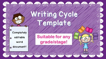 Writing Cycle Template