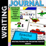 Journal Prompts - Daily Writing -First and Second Grade