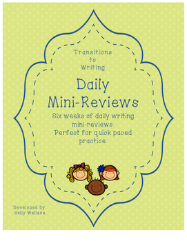 Writing Daily Mini-Reviews
