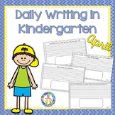 Kindergarten Writing (April)