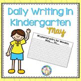 Kindergarten Writing  May