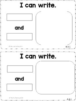 Kindergarten Writing  ~ December