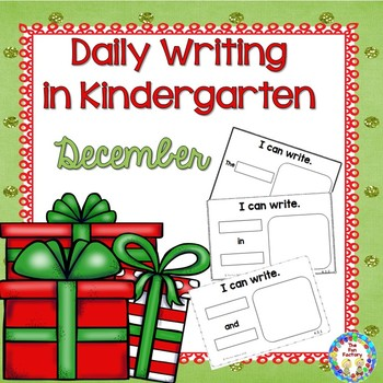 Kindergarten Writing   December