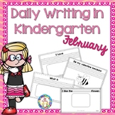 Kindergarten Writing ~ February