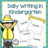 Kindergarten Writing   January