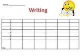 Writing Data Sheet