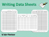 Writing Data Sheets