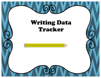 Writing Data Tracker