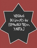 Writing Decimals in Expanded Form