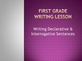 Writing Declarative and Interrogative Sentences