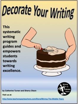Descriptive Writing - a program to teach descriptive writing