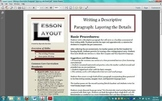 Writing Descriptive Paragraphs: Layering with Detail