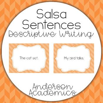 Writing Descriptive Sentences - Salsa Sentences
