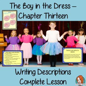 Writing Descriptive Texts Lesson  – The Boy in the Dress