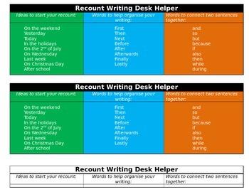 Writing Desk Helpers