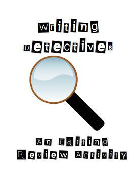 Writing Detectives!