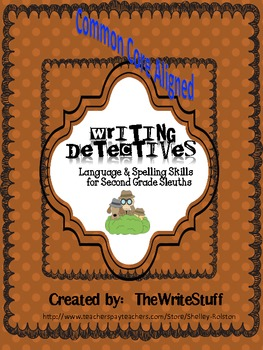 Writing Detectives: Language and Spelling Skills