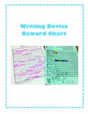 Writing Device Reward Chart