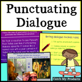 Writing Process : Strong Dialogue Practice with Correct Punctuation