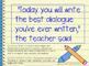 Writing Process : Strong Dialogue Practice with Correct Pu