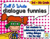 Writing Dialogue Activity