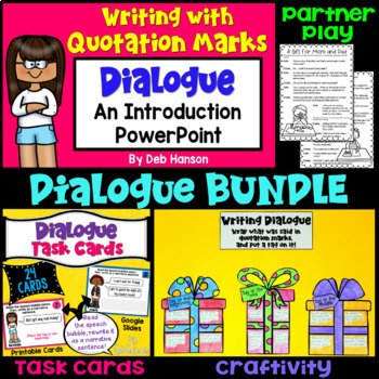 Dialogue Bundle of Activities