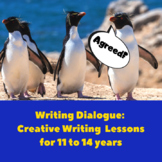 Writing Dialogue: Creative Writing Lesson Plans for 11 to