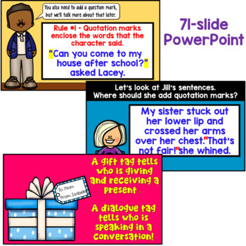 Writing Dialogue PowerPoint