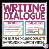DIALOGUE WRITING PRESENTATION & ASSIGNMENT