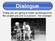 Writing Dialogue - Treasures Reading - Minilesson - Treasu