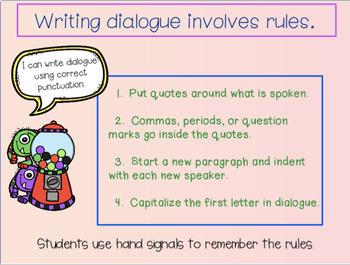 Writing Process : Dialogue Practice  (Teacher Evaluation Ready Lesson)
