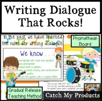 Writing Dialogue in the Writing Process : Promethean Boards
