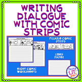 Writing Dialogue with Comic Strips