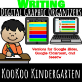Writing Digital Graphic Organizers  (Distance Learning)